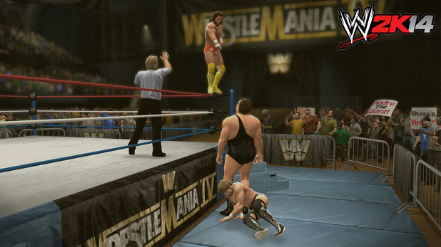 Randy Savage(with Miss Elizabeth and Hulk Hogan) vs.Ted DiBiase