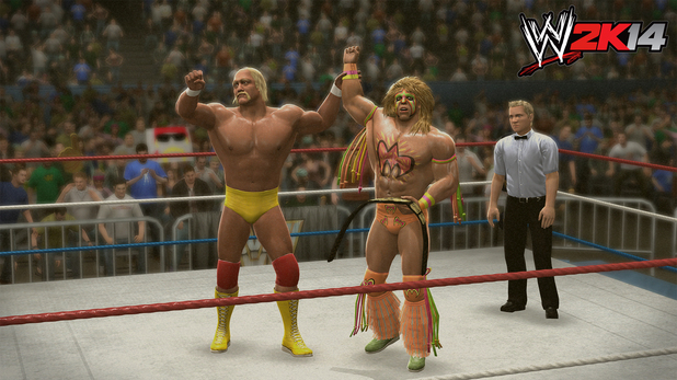 'WWE 2K14' Wrestlemania game mode screenshot