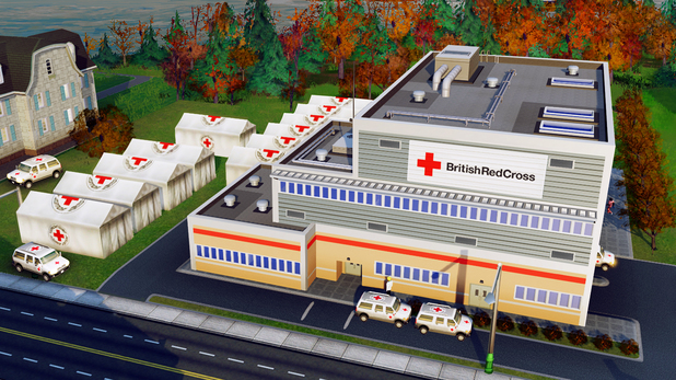 EA, Red Cross team up for 'SimCity'