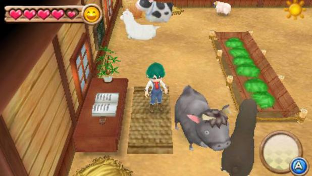 'Harvest Moon: A New Beginning' screenshot.