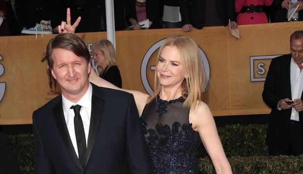 19th Annual Screen Actors Guild Awards, Arrivals, Shrine Auditorium, Los Angeles, America - 27 Jan 2013 Tom Hooper and Nicole Kidman