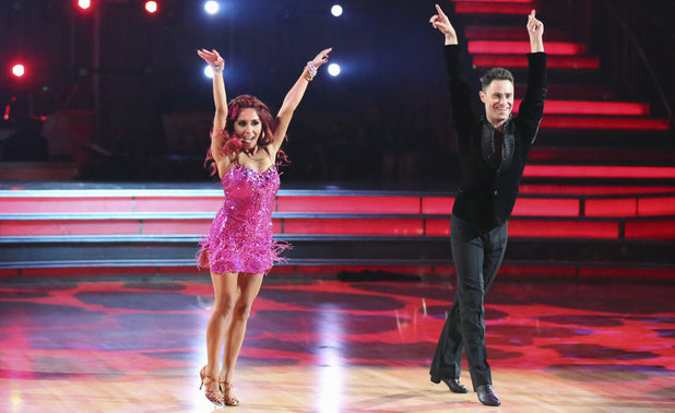 Dancing With The Stars Fall 2013, episode1: Nicole 'Snooki' Polizzi and Sasha Farber