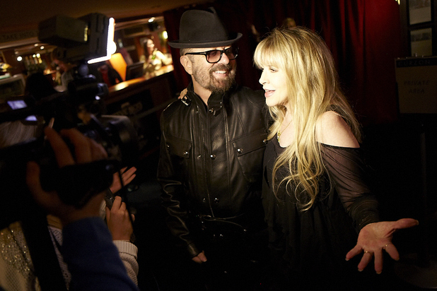 Stevie Nicks and Dave Stewart at the 'In Your Dreams' premiere in London - September 16, 2013