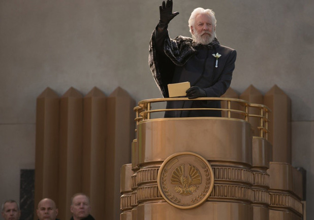 Donald Sutherland President Snow The Hunger Games Catching Fire