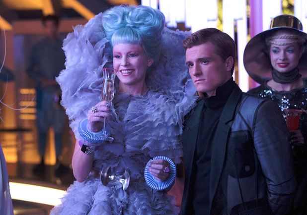 Effie Peeta The Hunger Games Catching Fire