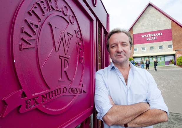 Neil Pearson as Vaughan Fitzgerald in Waterloo Road