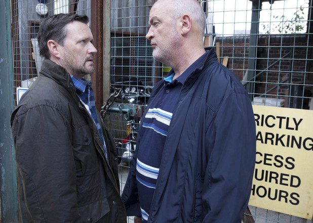 Phelan demands his motorbike back or he'll call the police.