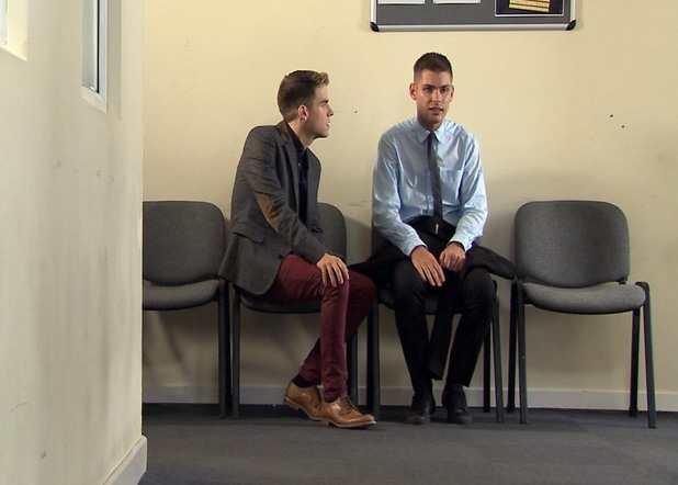 It's the day of Ste's trial.