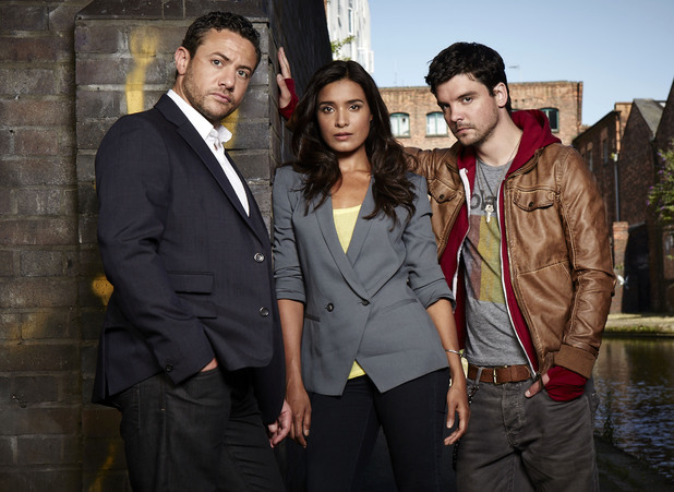 Warren Brown, Shelley Conn and Andrew-Lee Potts in By Any Means