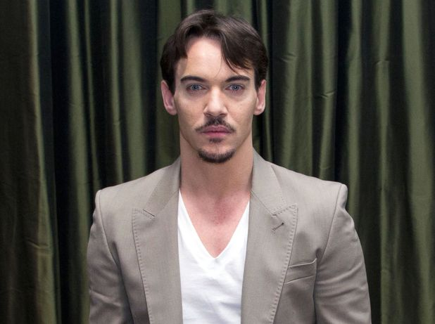 Jonathan Rhys Meyers photographed in April 2013