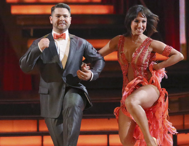 Dancing With The Stars Fall 2013, episode1: Jack Osbourne and Cheryl Burke