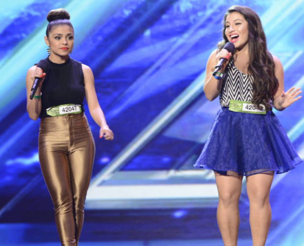 The X Factor USA: Shirley and Cynthia