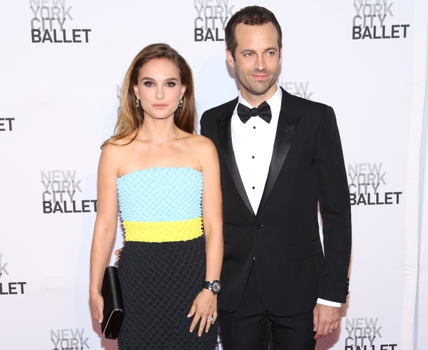 Natalie Portman, Benjamin Millepied New York City Ballet 2013 Fall Gala at David H. Koch Theater, Lincoln Center on September 19, 2013 in New York City