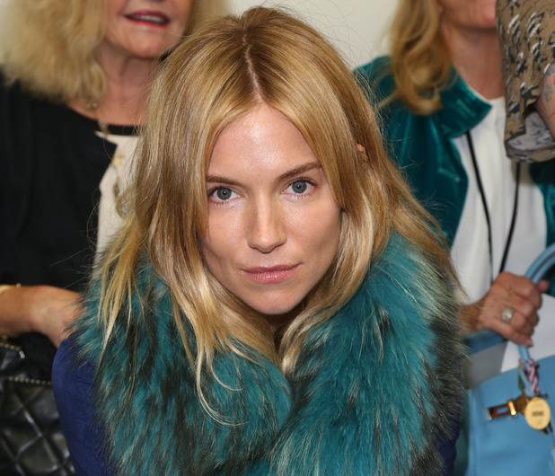 Sienna Miller, Matthew Williamson LFW 2013