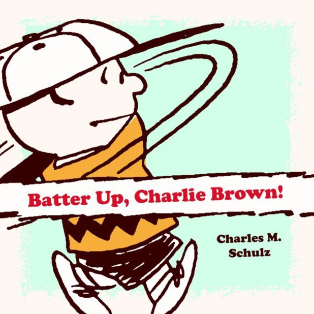 Charles M. Schulz's 'Batter Up, Charlie Brown'.