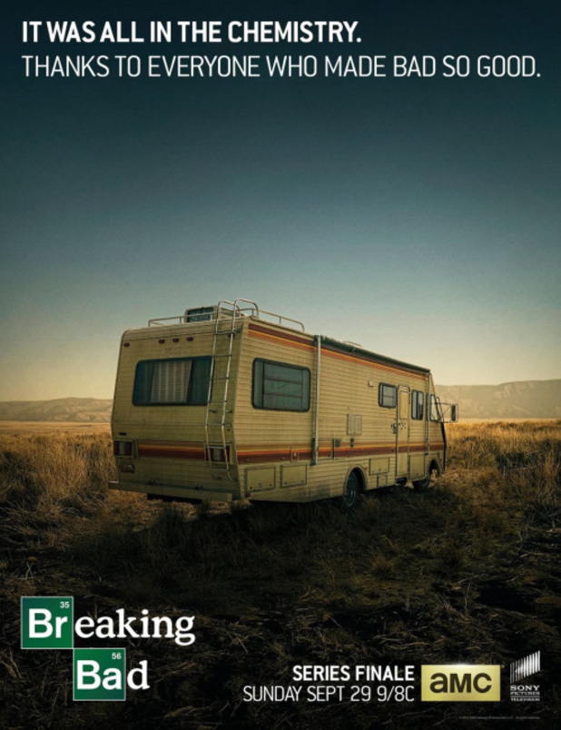 Breaking Bad series finale poster