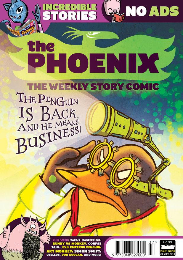 'The Phoenix' #90 cover