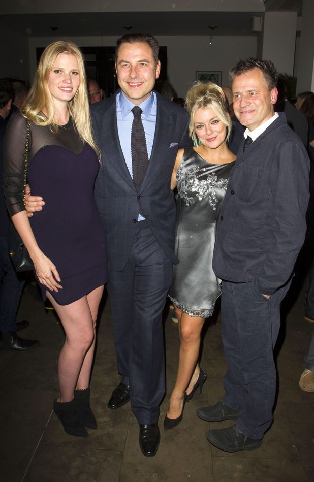 Lara Stone, David Walliams (Bottom), Sheridan Smith (Titania/Hippolyta) and Michael Grandage (Director)