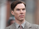 Benedict Cumberbatch filming for 'The Imitation Game' in London