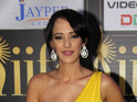 Hazel Keech is revealed as a contestant on the reality TV show.