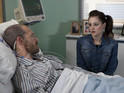 Kylie pays a visit to Nick in Coronation Street tonight.
