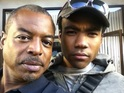 Reading Rainbow star tweets image with Donald Glover from Community set.