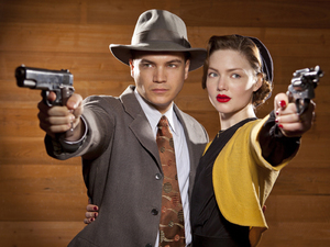 Emile Hirsch, Holliday Grainger in 'Bonnie & Clyde'
