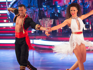 Artem Chigvinstev and Natalie Gumede gained the highest score of the evening.