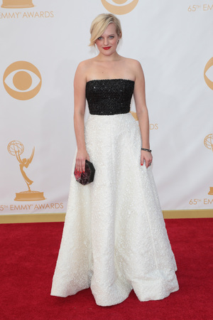 Elizabeth Moss The 65th Annual Primetime Emmy Awards, Arrivals, Los Angeles, America - 22 Sep 2013