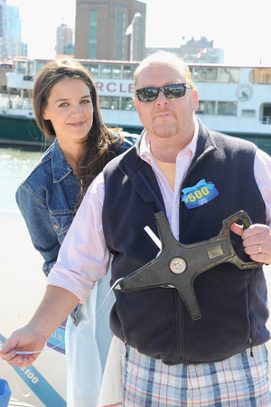 Katie Holmes and Chef Mario Batali