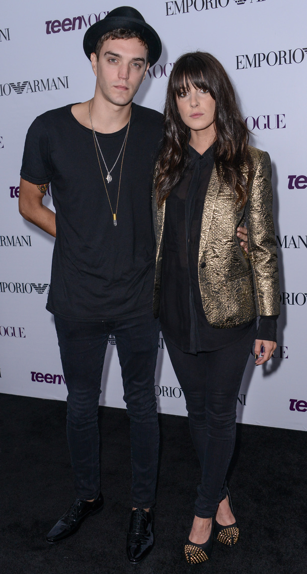 Shenae Grimes and Josh Beech