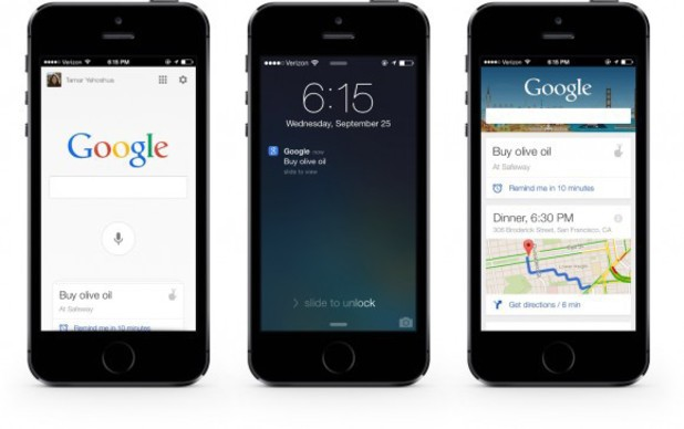Google Search iOS app