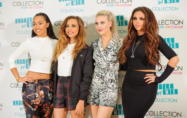 Little Mix launch their 'Collection' make up range