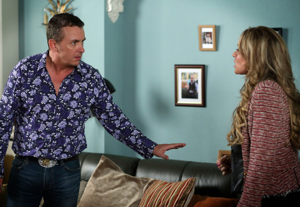Alfie tells Roxy they have to leave Walford to sort things out.