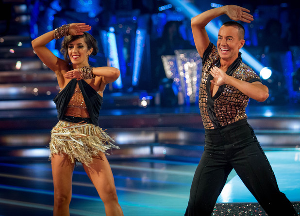 Janette Manrara and Julian Macdonald Cha Cha Cha