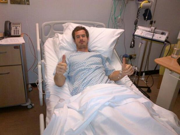 Andy Murray recovers after back surgery