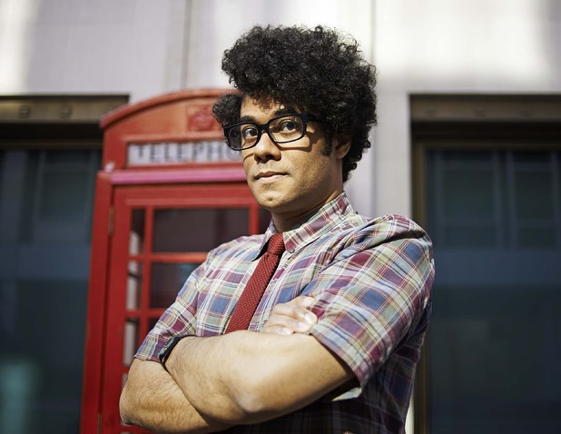 'The IT Crowd': Richard Ayoade as Moss