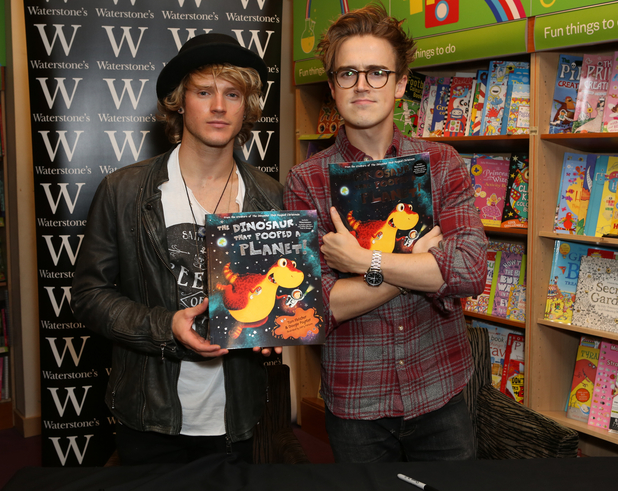 Dougie Poynter and Tom Fletcher