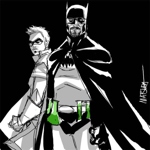 Jeff Matsuda's 'Breaking Bad'/'Batman' mashup