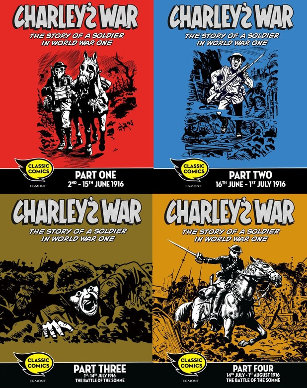'Charley's War' on Sequential