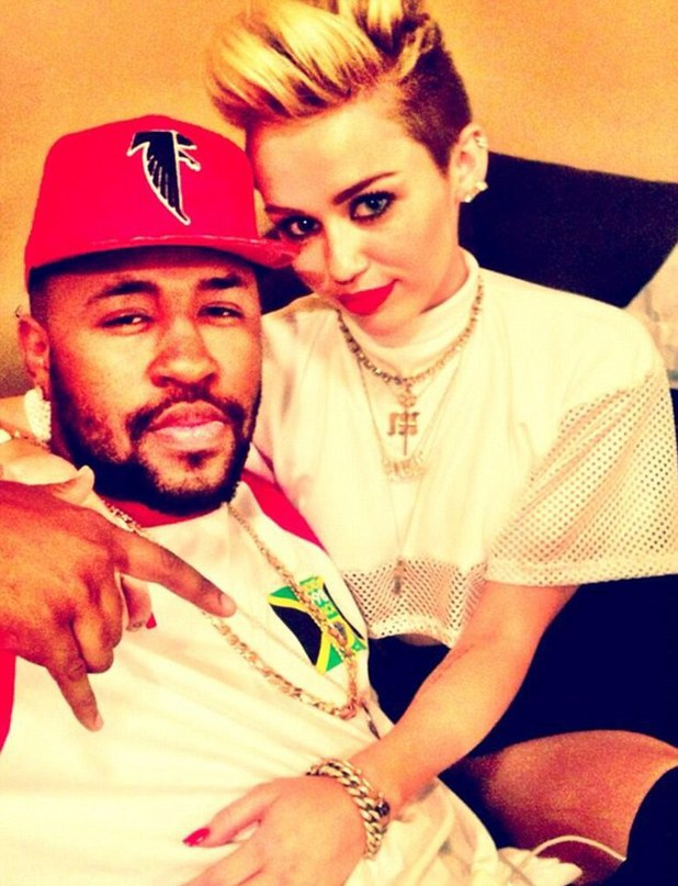 Miley Cyrus with Mike WiLL Made It