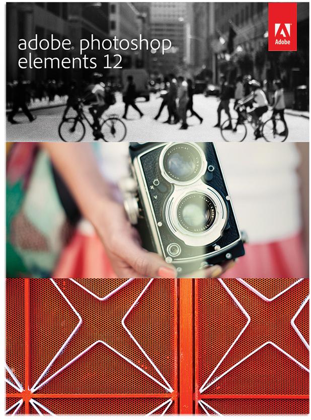 Adobe Photoshop Elements 12 box art