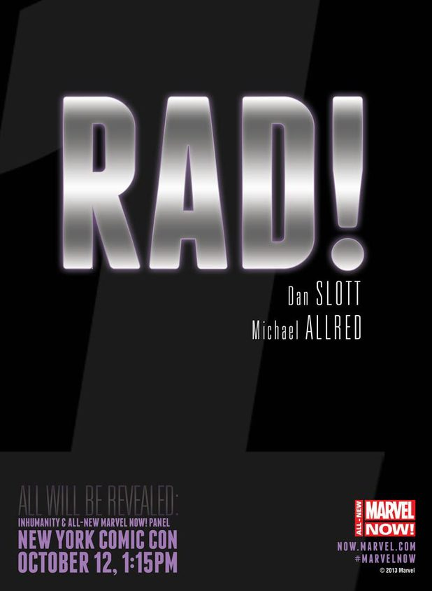 Dan Slott and Mike Allred's 'Rad' teaser