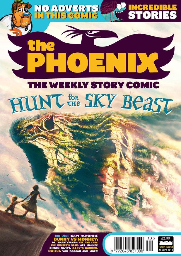 'The Phoenix' #91 cover