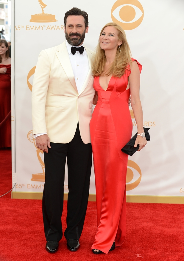 2013 Primetime Emmy Awards: Jon Hamm and Jennifer Westfeldt