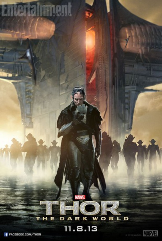 Christopher Eccleston as Malekith in 'Thor: The Dark World'