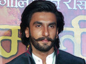 Ram-Leela star admits he was lost in the moment and forgot to react for the shot.