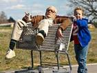 Jackass: Bad Grandpa team talk punching in the privates and getting lucky.
