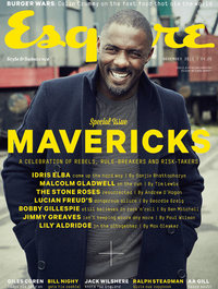 Idris Elba photo shoot for Esquire magazine