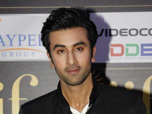 Ranbir Kapoor at the Jaypee International Indian Film Academy (IIFA) awards.